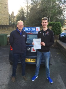 Driving test success with Better Driver Training
