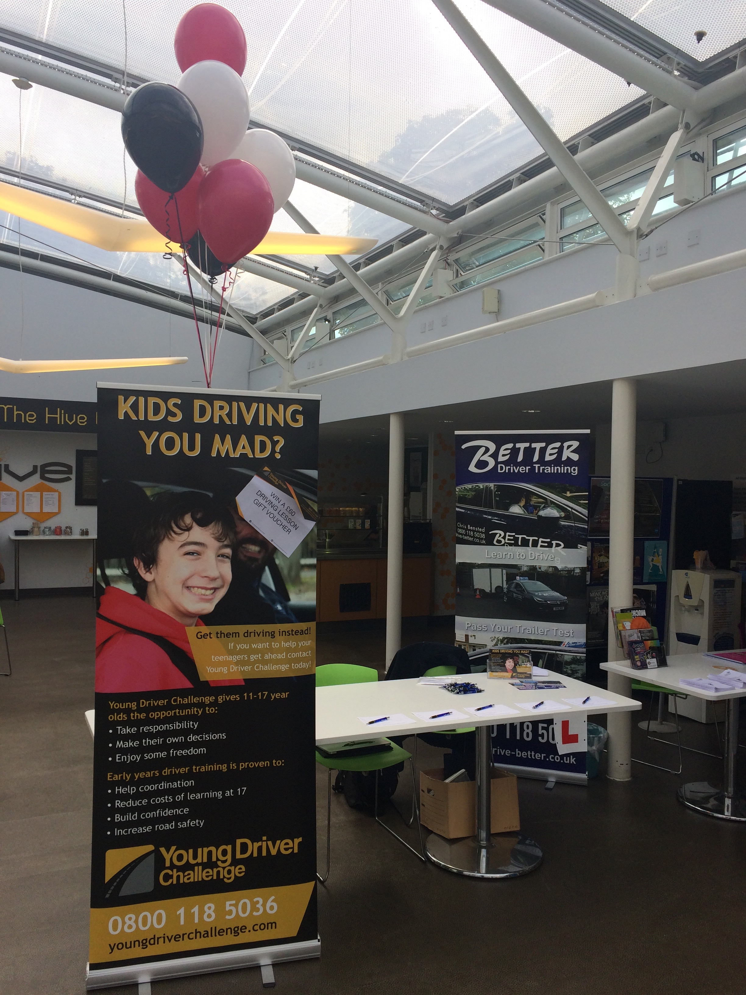 Our stand at Orpington College Welcome Fair 2017