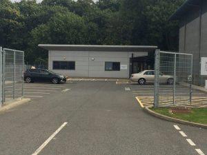 Gillingham Car test centre