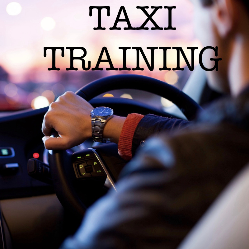 Taxi Drivers Hackney & Private Hire, assessing, training, testing