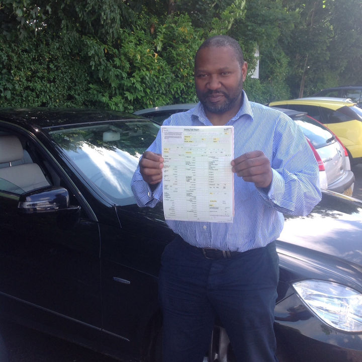 First time taxi test pass