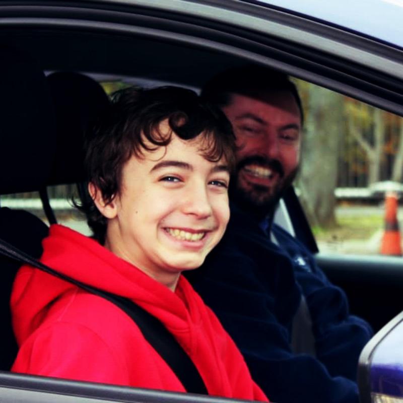 Develop driving skills at 11, 12, 13, 14, 15, 16+