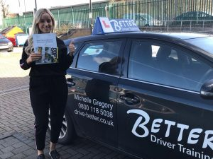 Following on form lesson with Better Driver Training another pupil passes at Sidcup