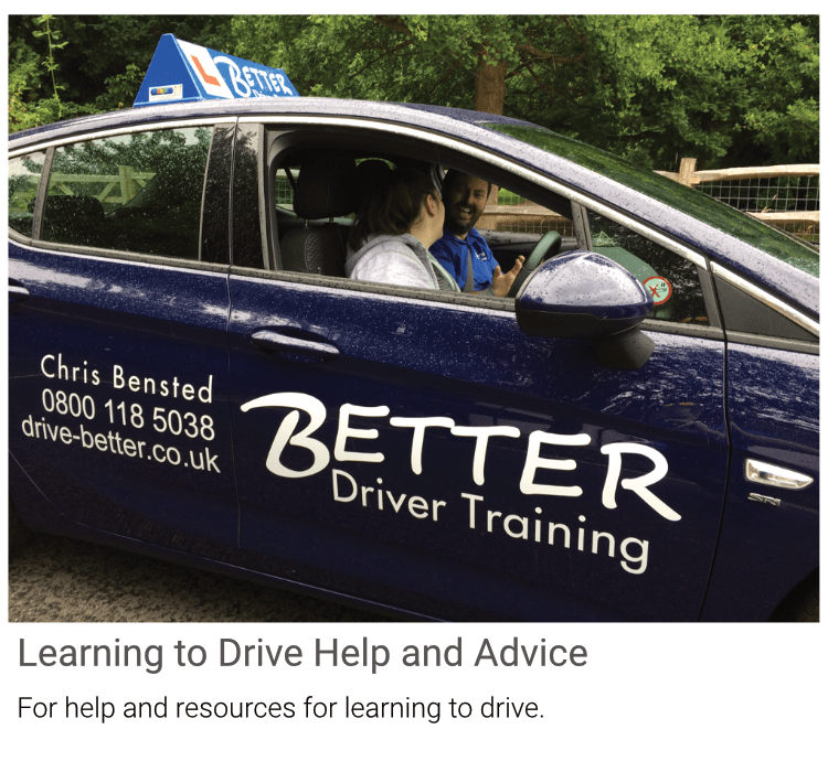 Help learning to drive, Advice on driving lessons