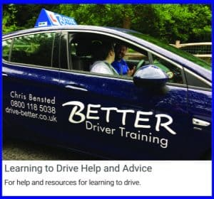 Guides on learning to drive.